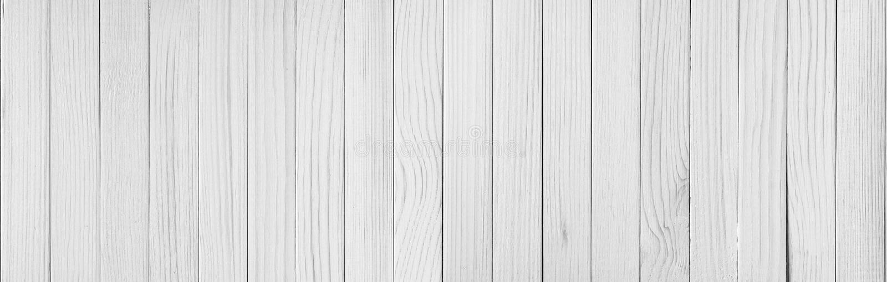 White wood plank texture background stock photo