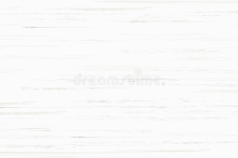 White wood plank texture for background. Vector. Illustration vector illustration