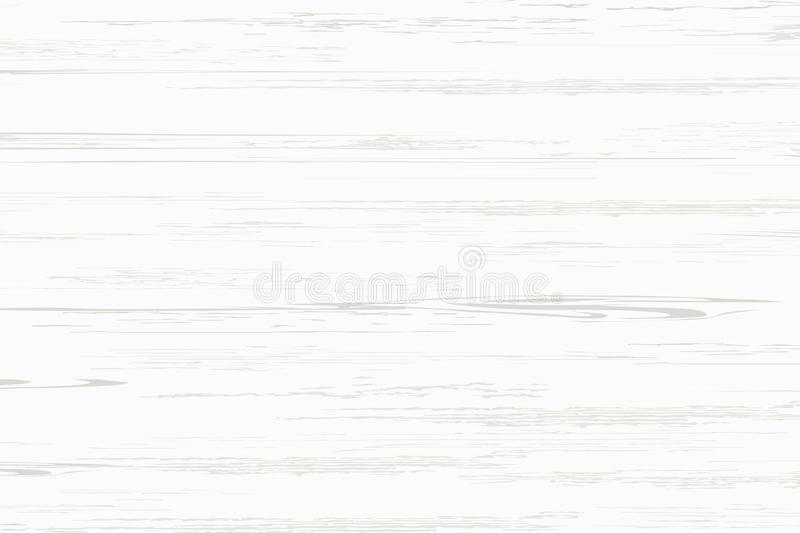 White wood plank texture for background. Vector. Illustration stock illustration