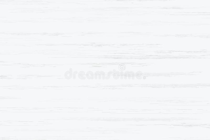 White wood plank texture for background. Vector royalty free illustration