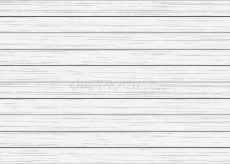 White wood plank texture royalty free illustration