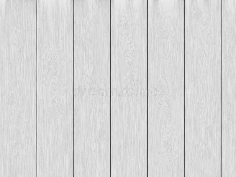 White wood planks texture background. royalty free illustration