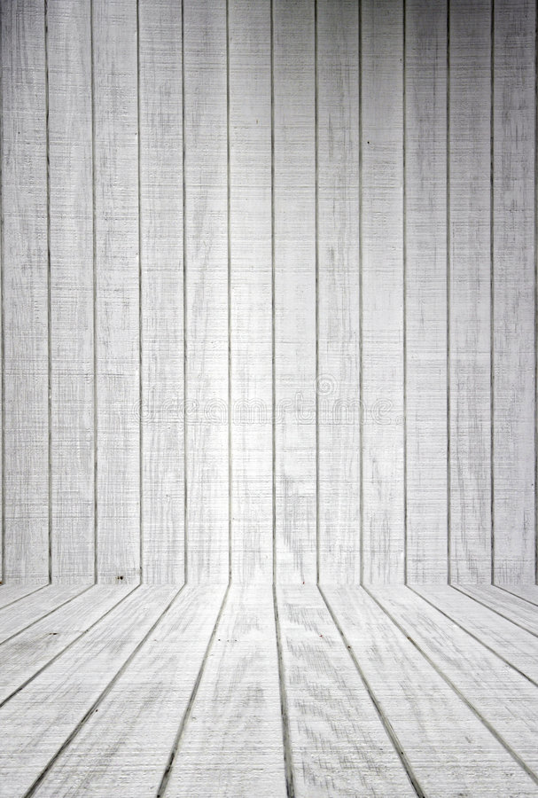 Free White Wood Planks With Floor Stock Photography - 981862