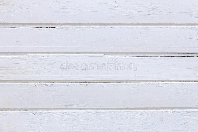 White wood texture background.Grunge wood wall pattern.  stock images