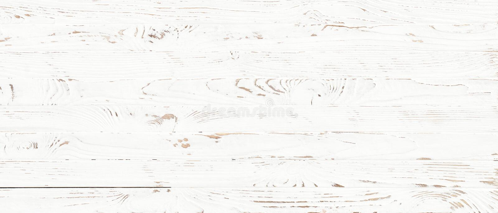White wood texture background royalty free stock photo
