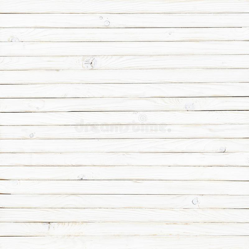 White wood texture background. Table top view vector illustration