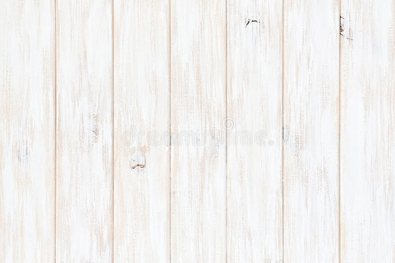 White wood texture background. Wooden table top view stock image