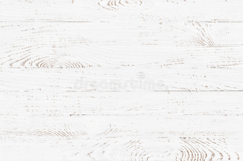 White wood texture background. Wooden table top view royalty free stock images