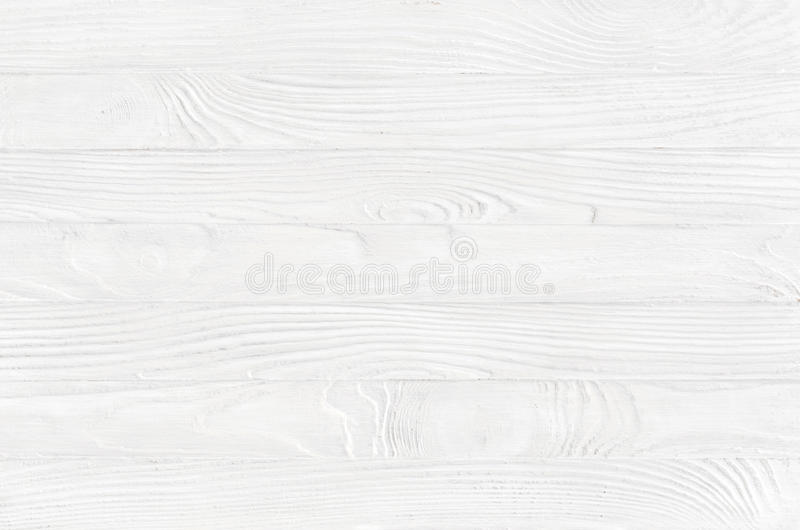 excellent white wood table top view