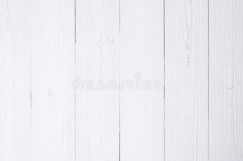 White wood texture with natural striped pattern for background, royalty free stock photos