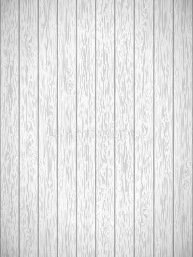 White wood texture Template. EPS 10 vector royalty free illustration