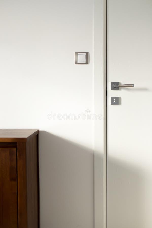 Free White Wooden Door 3 Royalty Free Stock Image - 38360696