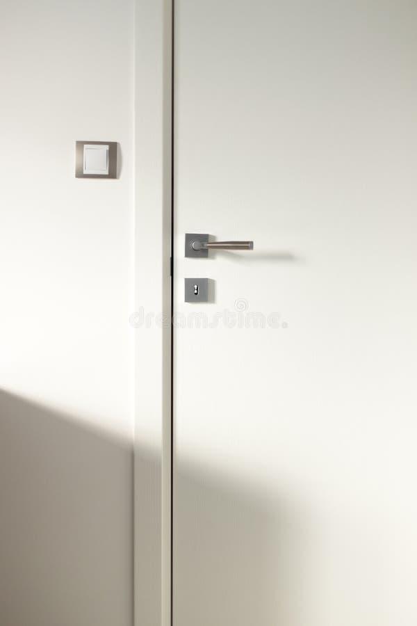 Free White Wooden Door Royalty Free Stock Image - 38360366