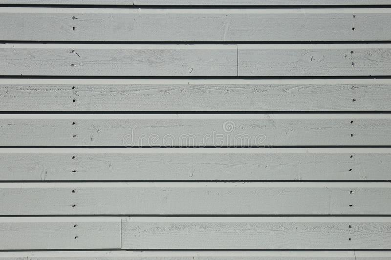 White Wooden Exterior Wall / Fence royalty free stock images