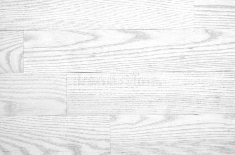 White wooden parquet, floor surface. Light wood texture. stock image