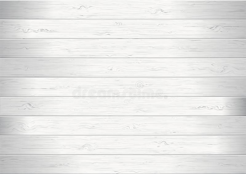White wood planks texture background vector illustration. White wooden planks texture background vector illustration stock illustration
