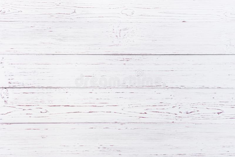 White wooden texture background royalty free stock photography