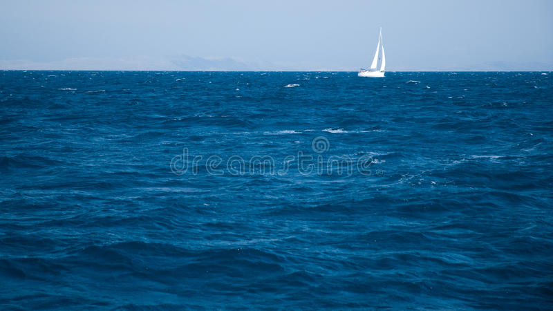 Download White yacht sailing stock photo. Image of leisure, navigation - 14617804