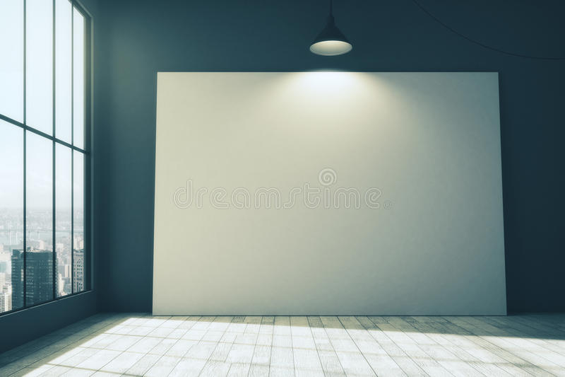 Whiteboard στο δωμάτιο απεικόνιση αποθεμάτων