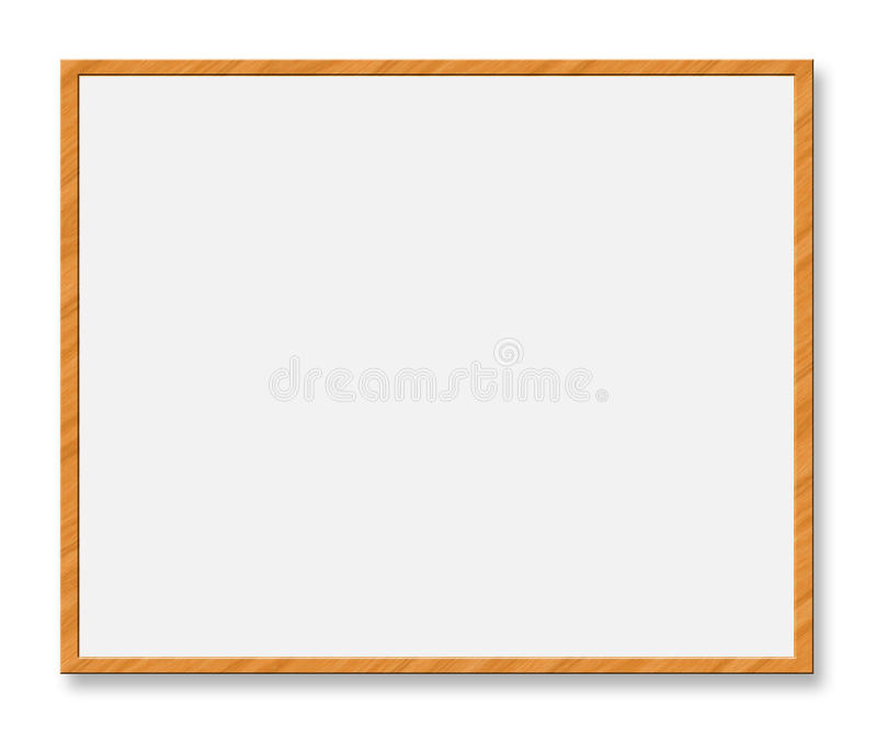 Whiteboard illustrazione di stock