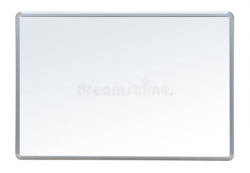 Whiteboard, d'isolement images stock