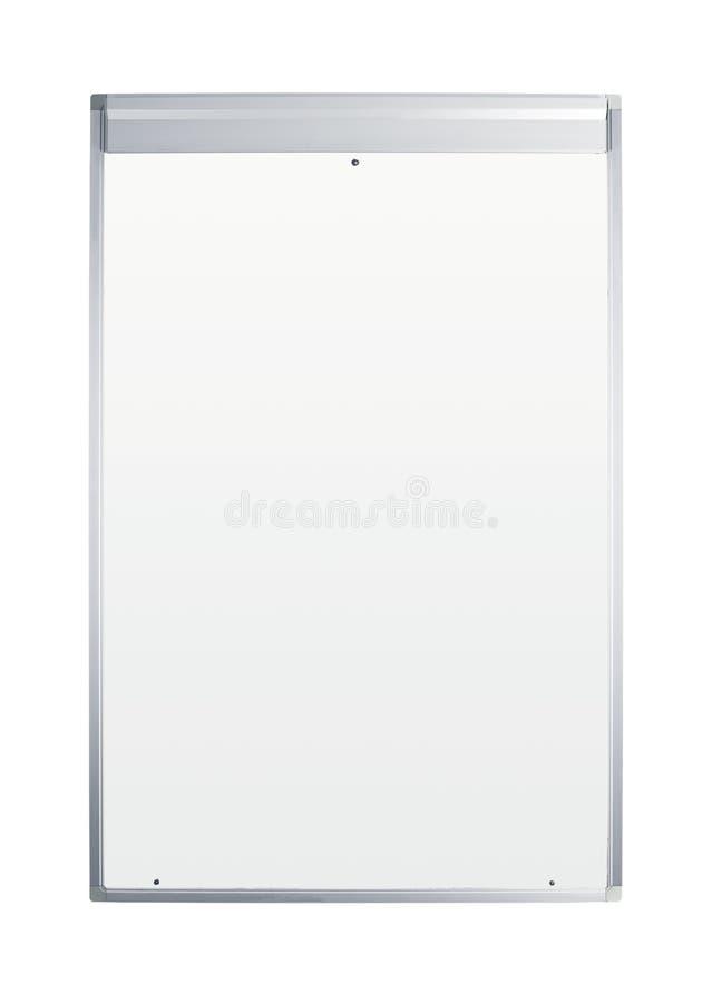 Whiteboard en blanco foto de archivo libre de regalías