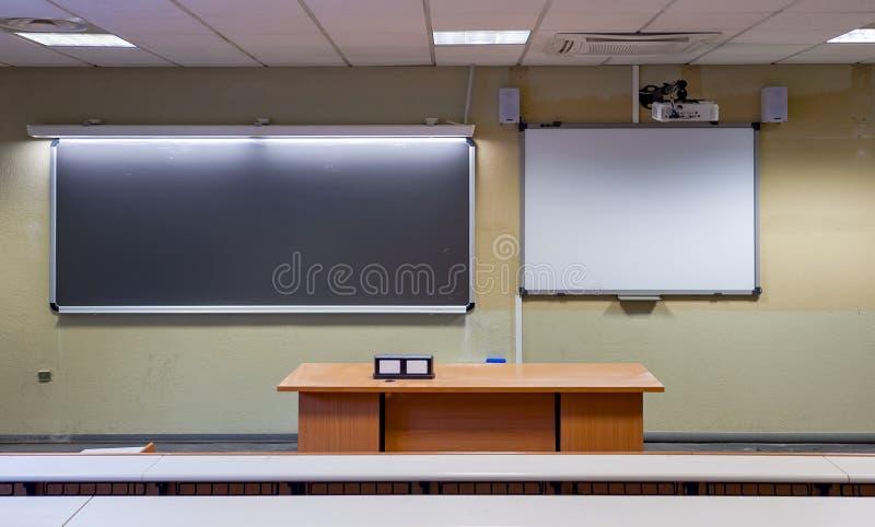 whiteboard LIM interativo imagem de stock