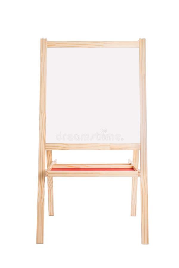Whiteboard odizolowywał nad białym tłem fotografia stock
