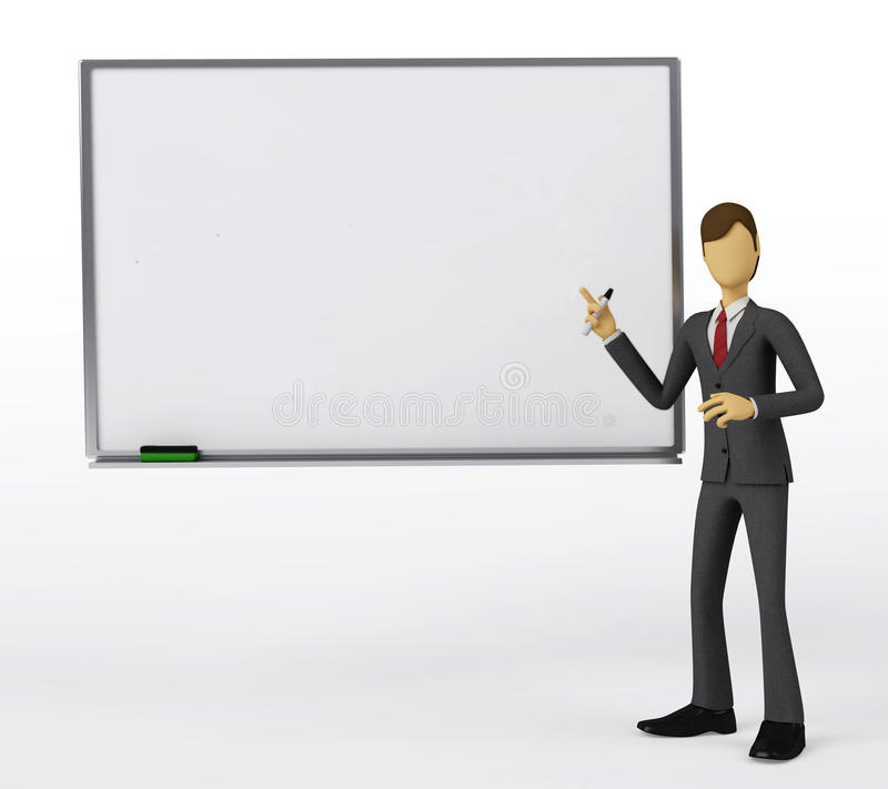 Free Whiteboard Presentation Royalty Free Stock Image - 12836186
