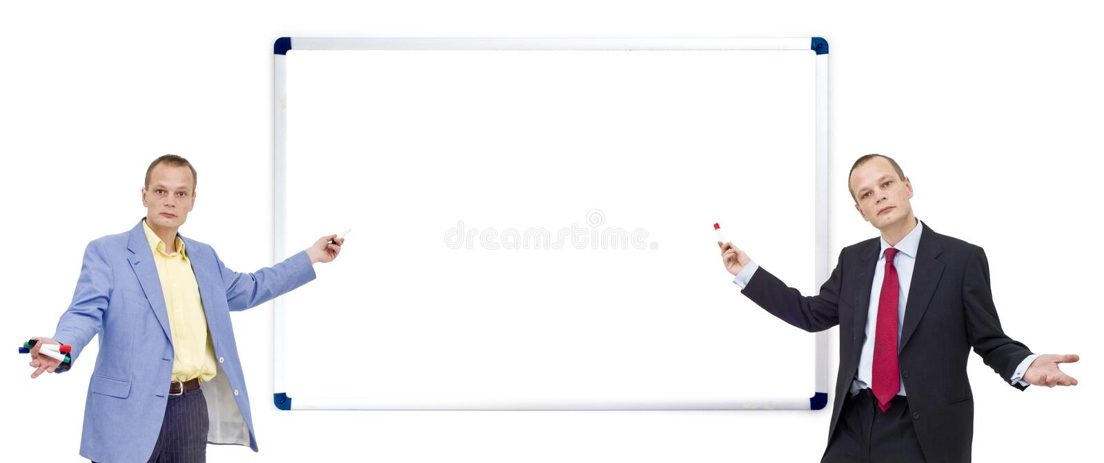 Download Whiteboard presentation stock image. Image of serious - 7970987