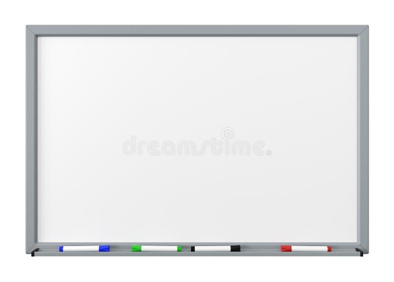 Whiteboard utklipp vektor illustrationer
