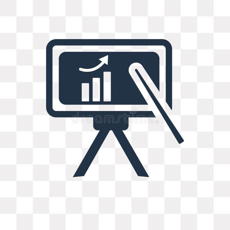 Whiteboard vectordiepictogram op transparante Witte achtergrond wordt geïsoleerd, vector illustratie