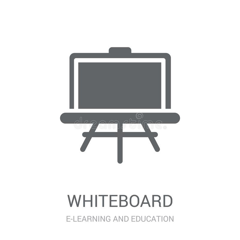 Whiteboardpictogram  vector illustratie