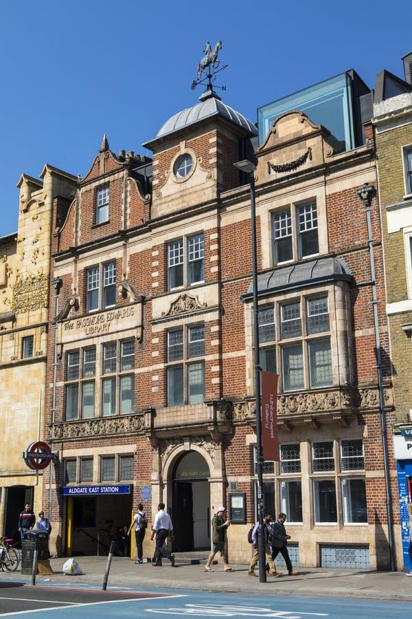 Whitechapelgalerij in Londen stock foto