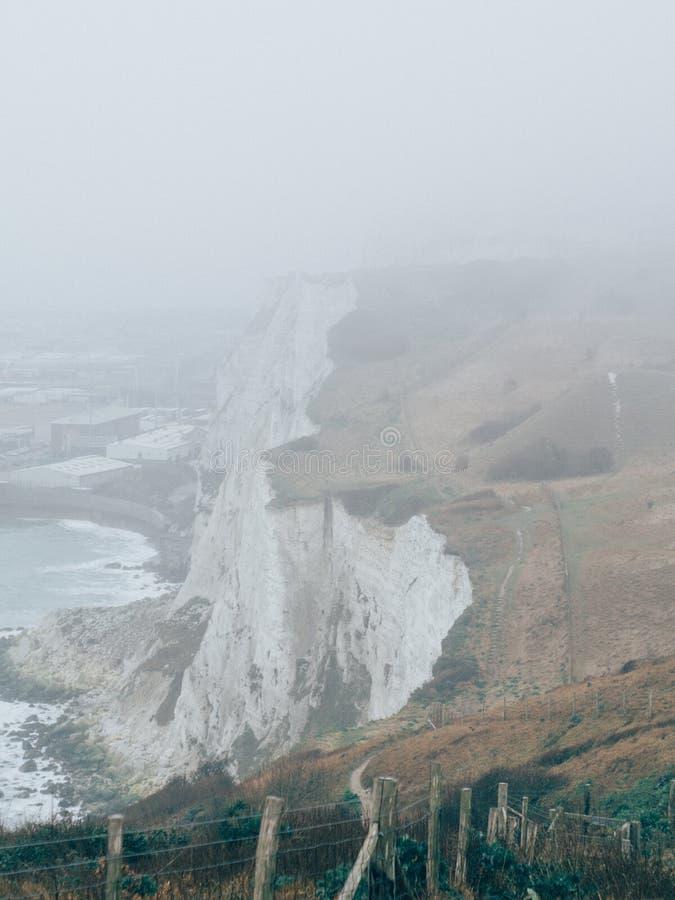 Whitecliffs von Dover stockfotos