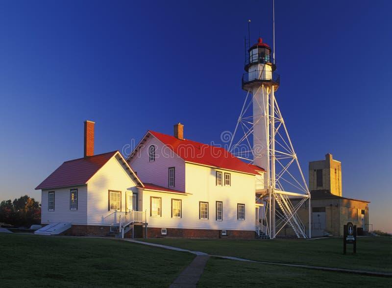 Whitefish Point Lighthouse royalty free stock photos