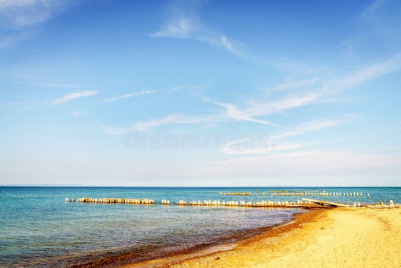 Whitefish Point, Michigan. Beach on Lake Superior in Whitefish Point, Michigan, Upper Peninsula stock images