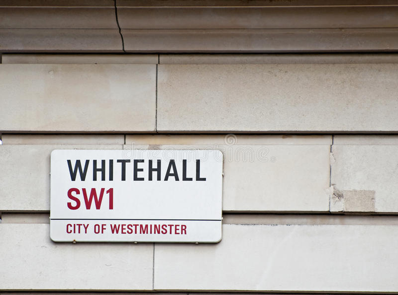 Whitehall Royalty Free Stock Images