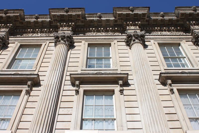 Whitehall building facade royalty free stock images