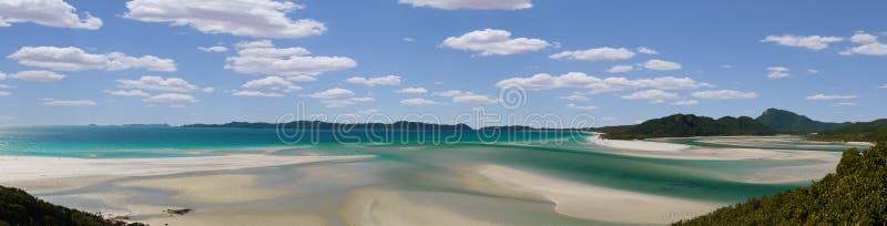 Whitehaven海滩 免版税库存照片