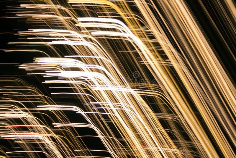 Whitelines modernos abstractos imagen de archivo