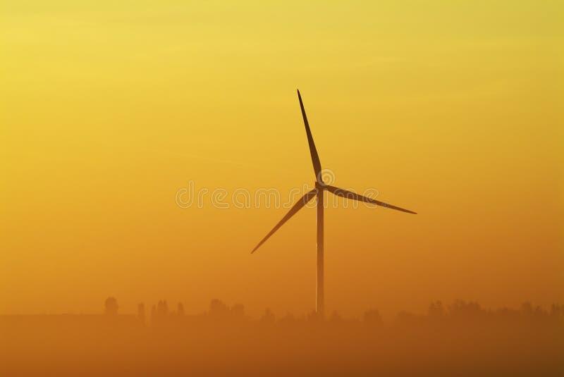 Whitemoor Turbine stockfotografie