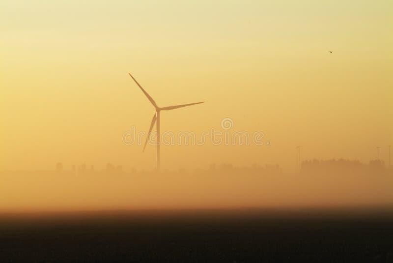 Whitemoor Turbine stockbilder