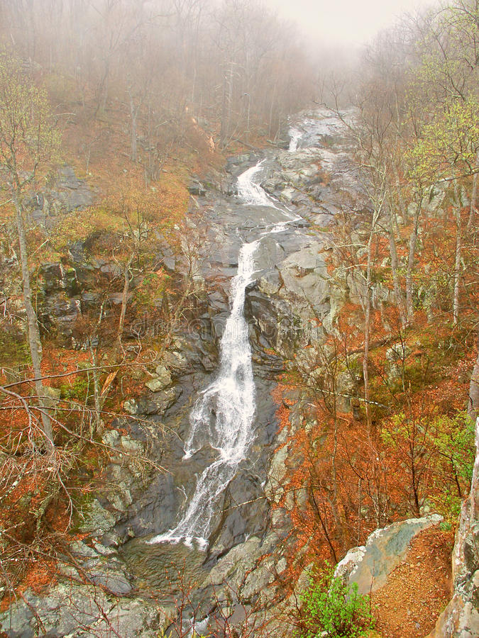 Whiteoak supérieur tombe la Virginie image stock
