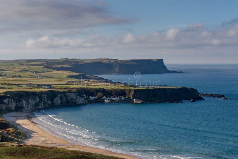Whitepark Bay, Northern Ireland stock photos