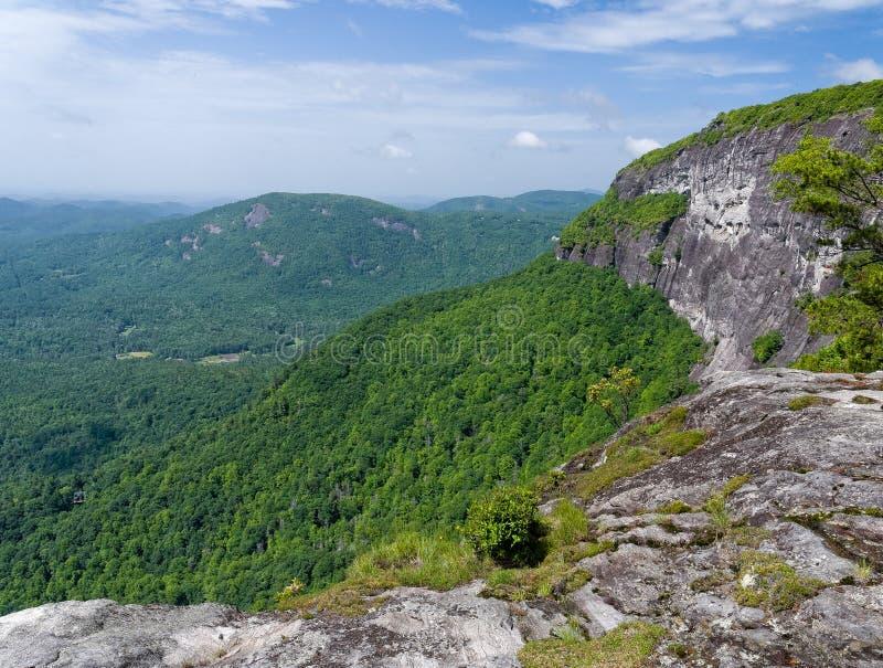 Whiteside Mountain View fotos de stock