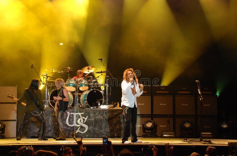 Whitesnake stockbild