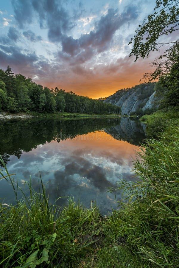 Whitet River arkivbilder