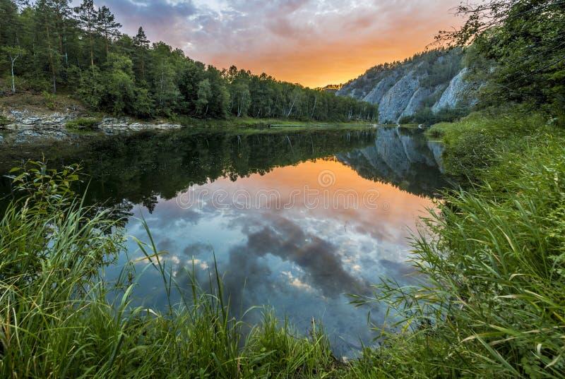 Whitet River royaltyfria foton