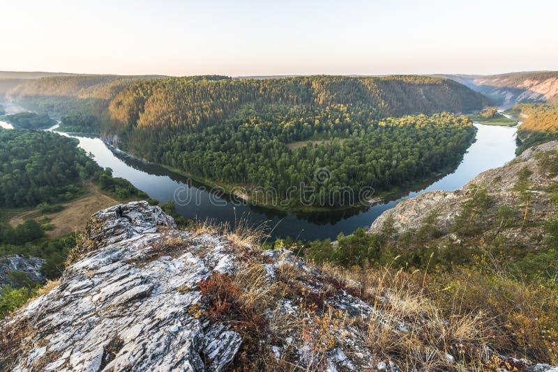 Whitet River royaltyfri fotografi